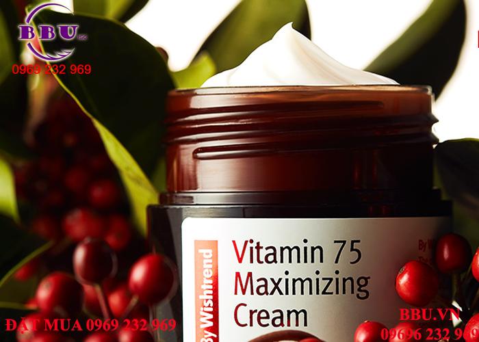 Kem dưỡng By Wishtrend Vitamin 75 Maximizing Cream của Hàn