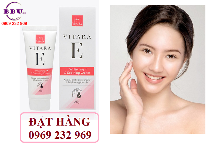 Kem dưỡng da, phục hồi hư tổn vitara e whitening