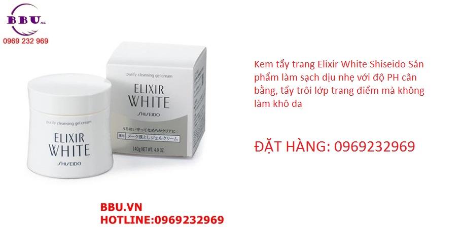 Kem tẩy trang Elixir White Shiseido