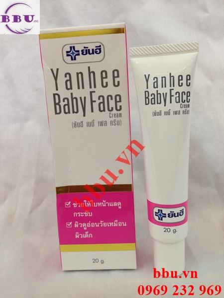 Kem trắng da mặt Yanhee Baby Face Cream cho làn da giống da em bé
