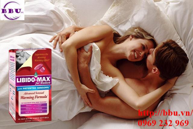 Libido-max for Women 40 viên tăng cường khả năng tình dục cho nữ
