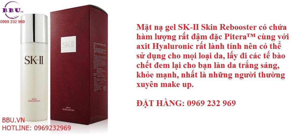 Mặt nạ dưỡng da tẩy tế bào chết dạng gel SK-II Skin Rebooster 75g của Nhật Bản