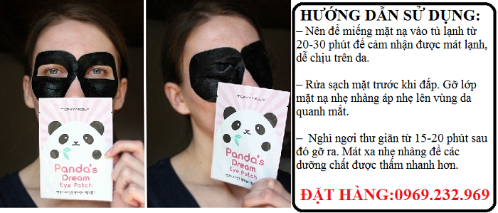 Mặt nạ trị thâm Tonymoly Pandas Dream Eye Patches