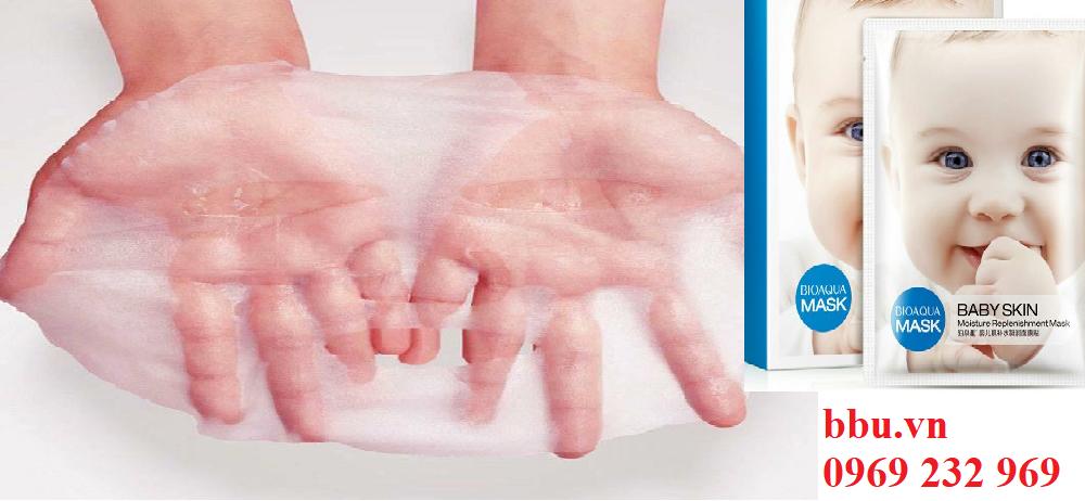 Mặt nạ giấy Bioqua Baby Skin Mask