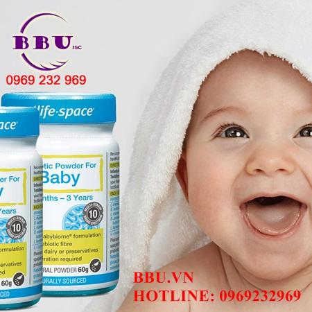 Men vi sinh, tiêu hóa của Úc Probiotic Powder For Baby 60g