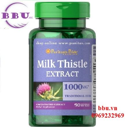 Milk Thistle 90 viên hỗ trợ giải độc gan