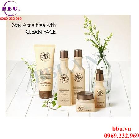 Nước Hoa Hồng Cho Da Mụn-Clean Face Mild Toner
