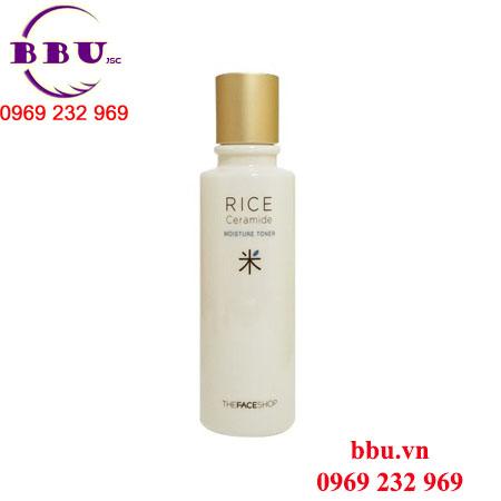 Nước hoa hồng Rice Ceramide Moisture Toner