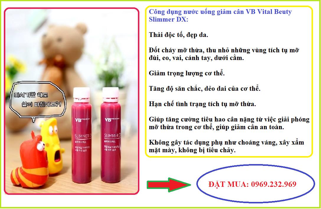 Nước uống giảm cân VB Vital Beautie Slimmer DX