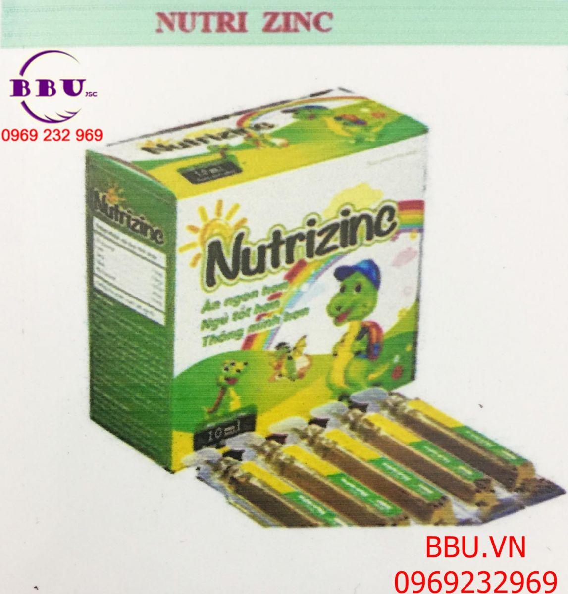 Nutrizinc bổ sung kẽm, phát triển trí não và tăng cường miễn dịch