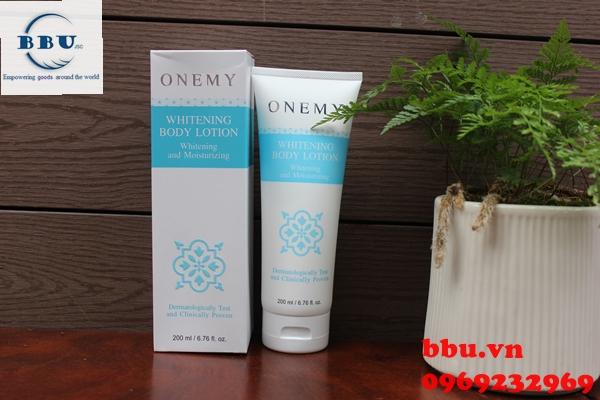 Onemy whitening body lotion dưỡng thể trắng da toàn thân