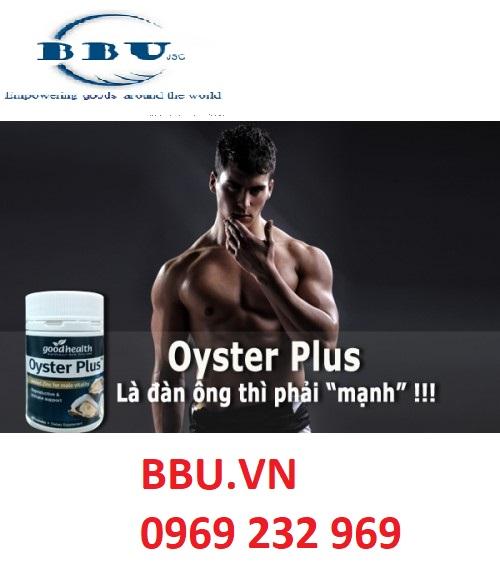 Oyster Plus – Tăng cường sinh lý nam