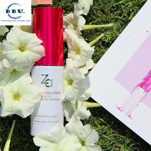 Tinh chất chống lão hóa ZA Perfect Solution Youth Whitening Serum