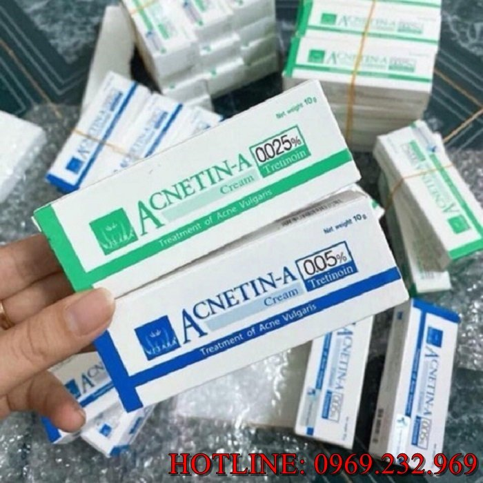 Phân phối sỉ trị mụn Acnetin - A 0.025% quận 4