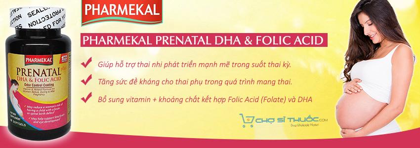 Pharmekal Prenatal DHA & Folic Acid