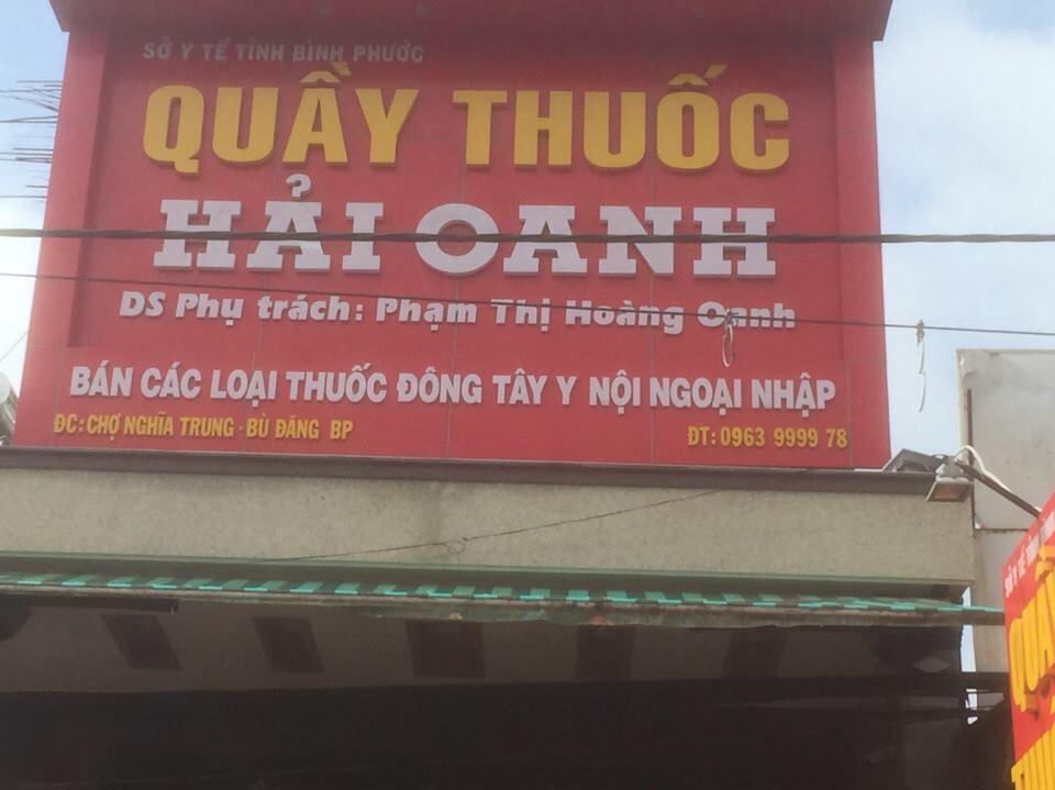 Quầy thuốc Hải Oanh - Bình Phước
