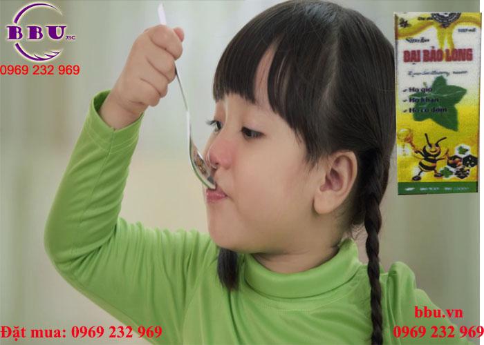 Siro ho Đại Bảo Long giảm ho ngứa họng