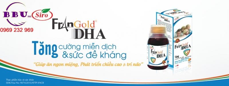 Siro tăng cường sức đề kháng FranGold DHA
