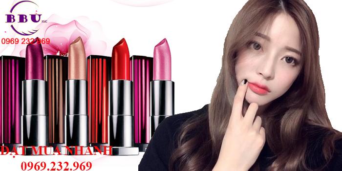 Son Lì Maybelline Lipstick Của Mỹ