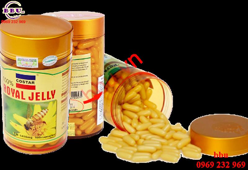Sữa ong chúa chống lão hóa, tăng cường hệ miễn dịch Naro 1650mg nhập từ Úc