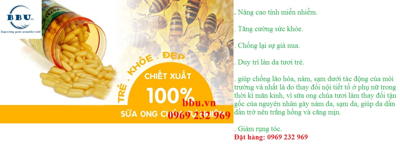 Sữa ong chúa của úc costar royal jelly 1450mg