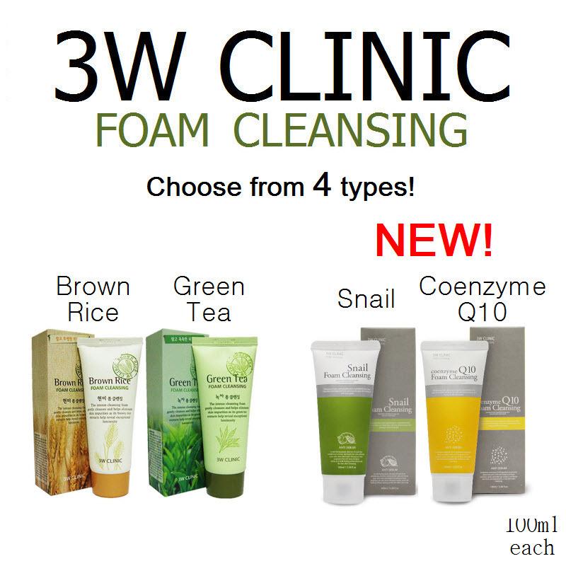 Sữa rửa mặt 3W Clinic Q10 Coenzyme Cleansing Foam
