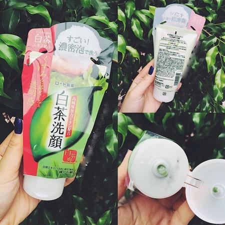 Sữa rửa mặt trà xanh shirochasou