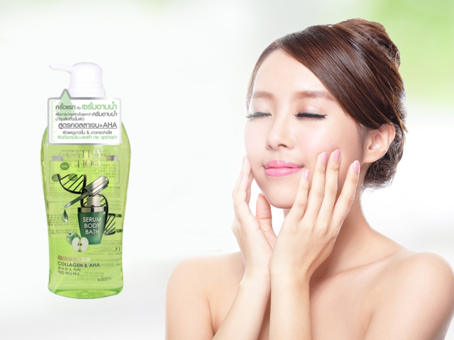 Sữa tắm Collagen & AHA Serum Body Cathy Choo