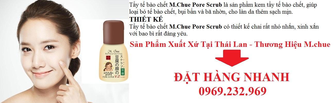 Tẩy tế bào chết M.Chue Pore Scrub