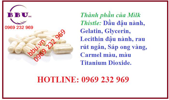 Thuốc điều trị gan Milk Thistle Extract