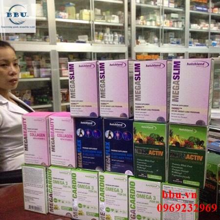 Thuốc giảm cân MegaSlim USA