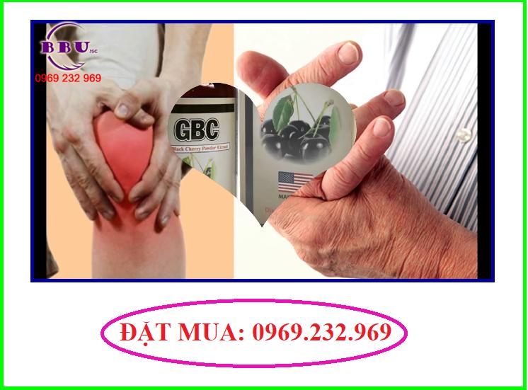 Thuốc hỗ trợ điều trị gout gbc