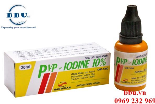 Thuốc sát trùng PVP IODINE Lọ 100ml hay nhất