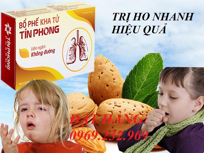 Thuốc trị ho Bổ Phế Tín Phong hiệu quả nhất