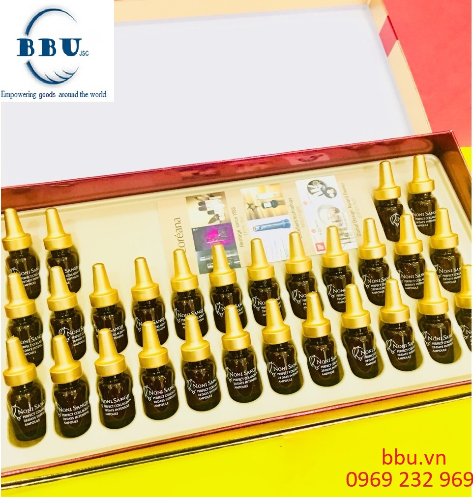 Tinh chất Collagen Nino Sangji xách tay Hàn Quốc
