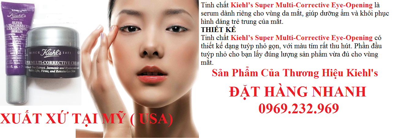 Tinh chất Kiehl's Super Multi-Corrective Eye-Opening