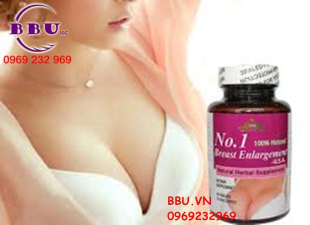 Thuốc Nở Ngực No. 1 Breast Enlargement USA 60 viên