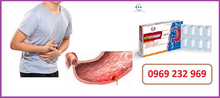 Điều trị viêm loét dạ dày Wicumin Ginic