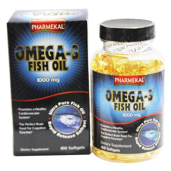 Viên Dầu Cá Omega 3 Fish Oil 1000mg Văn Duy Phương