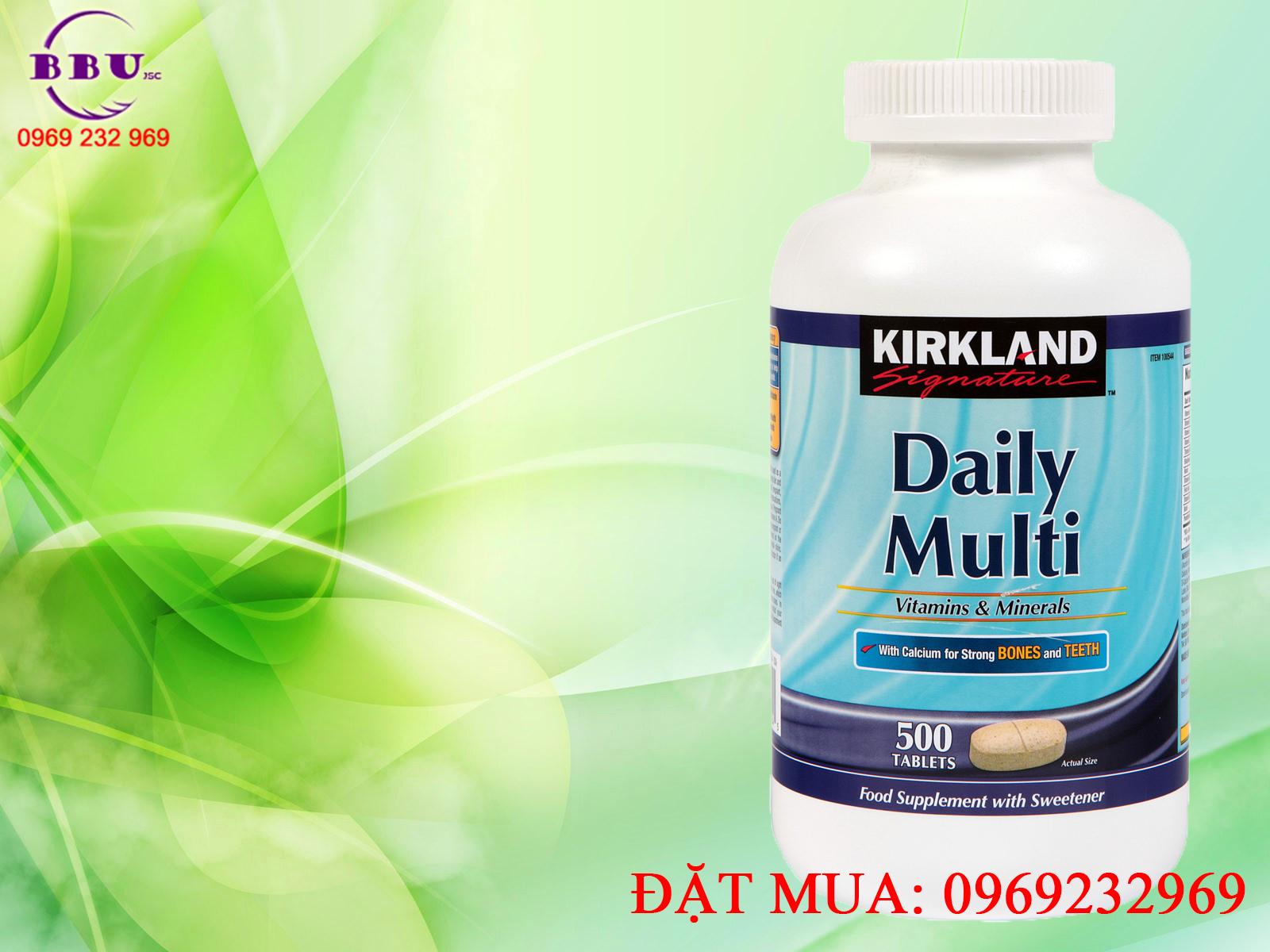 Công dụng viên uống bổ sung vitamin và khoáng chất