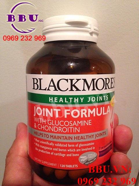 Viên uống hỗ trợ xương khớp Blackmore Joint Formula with Glucosamine & Chondroitin 120 viên của Úc