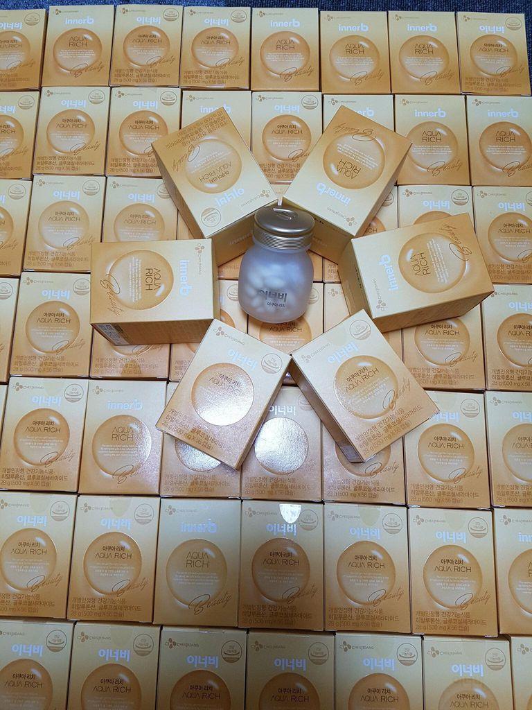 Viên Uống Bổ Sung Nước Và Collagen Innerb Aqua Rich  Hàn Quốc