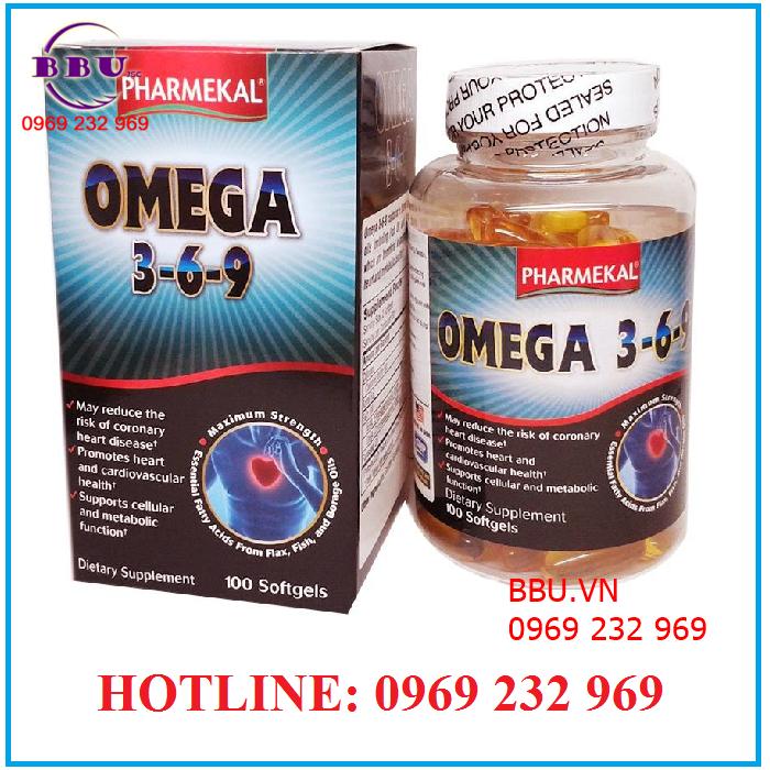 Viên uống dầu cá Omega 3- 6- 9 100 viên