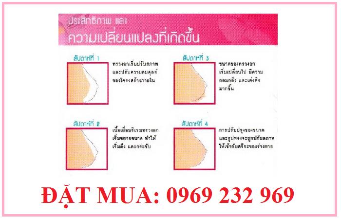 Viên uống nở ngực Yanhee Thái Lan