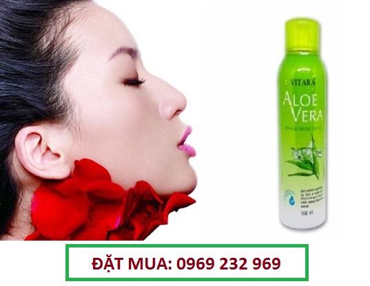 Xịt khoáng dưỡng da Vitara Aloe Vera Mineral Water Spray