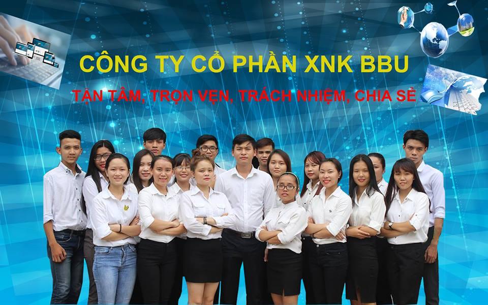 Nhận thực tập tốt nghiệp làm việc tại công ty cổ phần XNK BBU