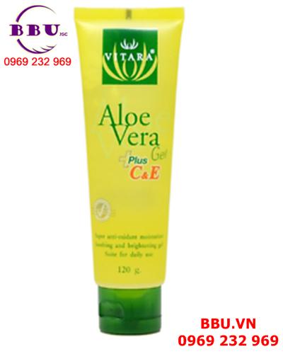 Gel dưỡng ẩm và trẻ hóa da Aloe Vera