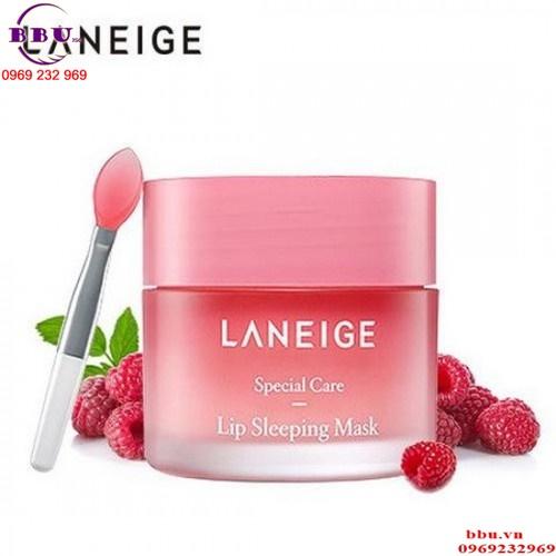 Review Mặt Nạ Ngủ Dưỡng Ẩm Và Phục Hồi Môi Thâm Laneige Lip Sleeping Mask (Berry) 20g