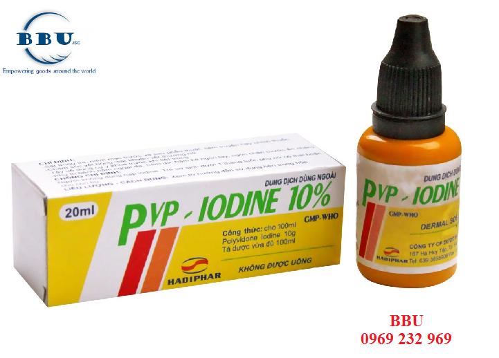 Thuốc sát trùng PVP IODINE Lọ 100ml