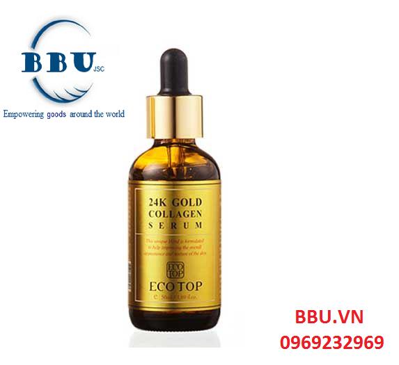 Phân phối sỉ Serum 24K Gold Collagen Ecotop uy tín